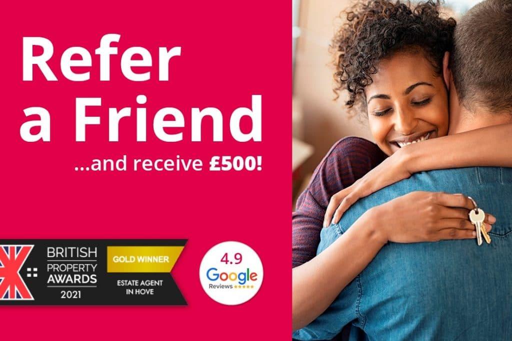 Refer a friend £500