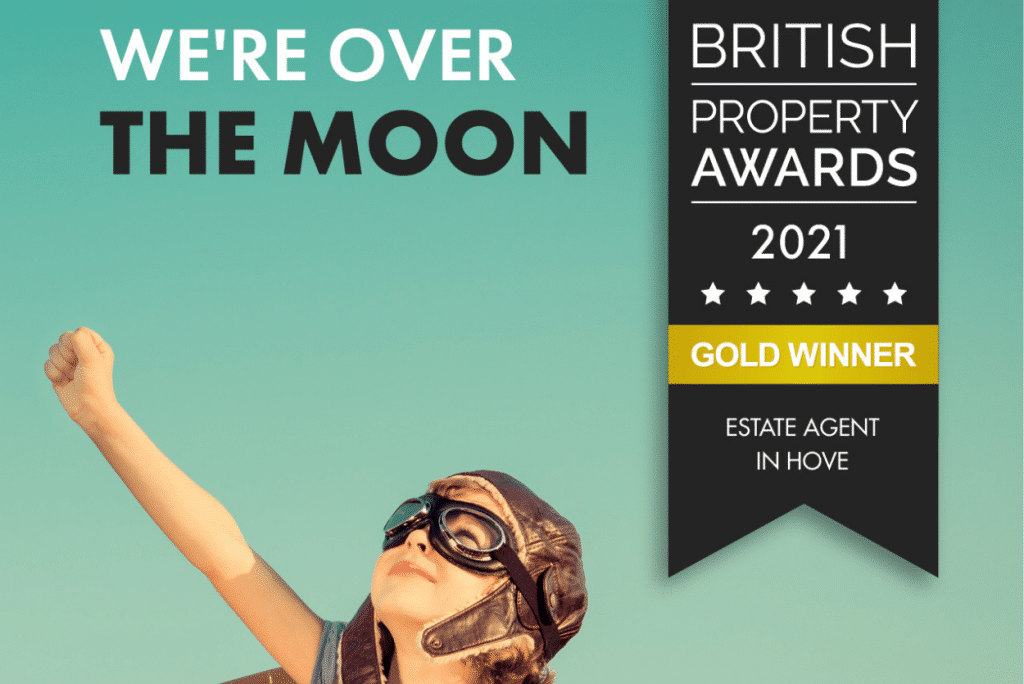 INTRODUCING WINNER OF THE BRITISH PROPERTY AWARDS 2021 FOR HOVE COX & CO HOMES